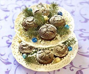 оформление праздничных кексов
