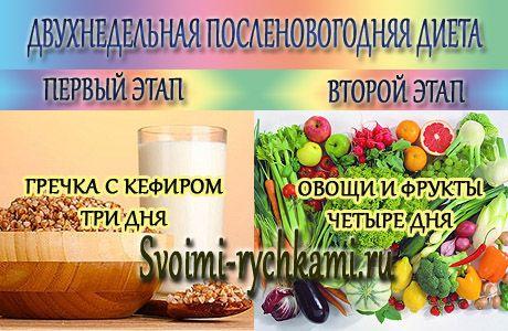 эффективная комбинированная диета