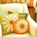 как декорировать подушку