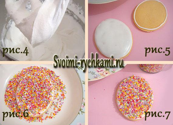печенье в виде яйца