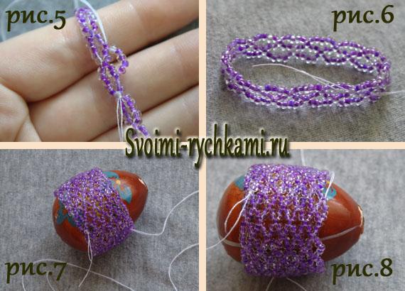 плетение пасхального яйца