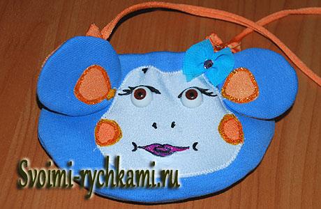 детская сумка-кошелек